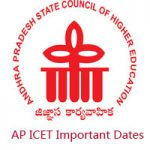 AP ICET Important Dates