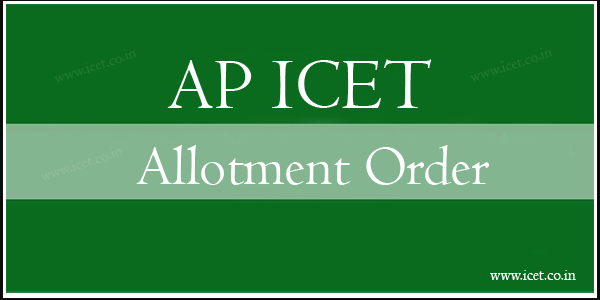icet allotment order